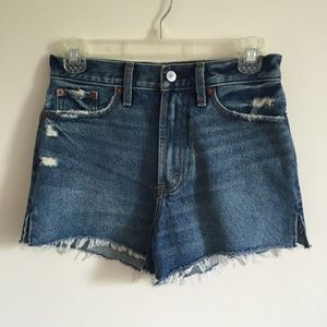 ABERCROMBIE & FITCH High Waisted Shorts NWT